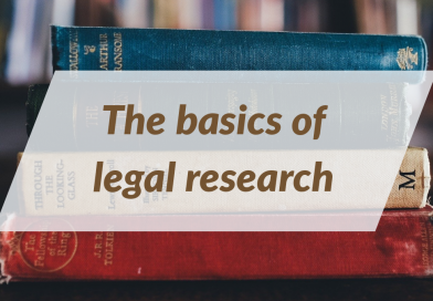 Basics of Legal Research