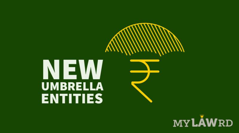 New Umbrella Entities