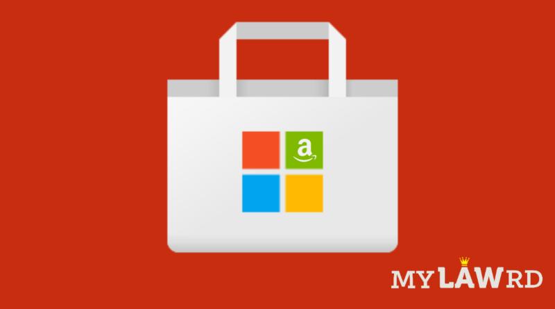 Microsoft Windows 11 App Store Amazon Epic Games