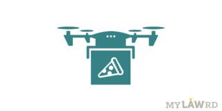 food delivery through drones